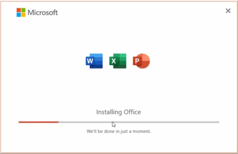 Cách cài office word, excel, outlook 2019