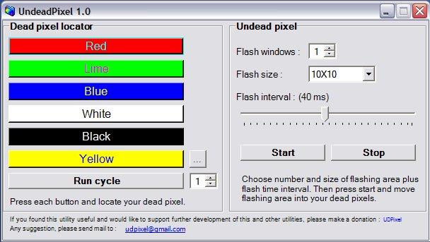 Phần mềm test màn hình