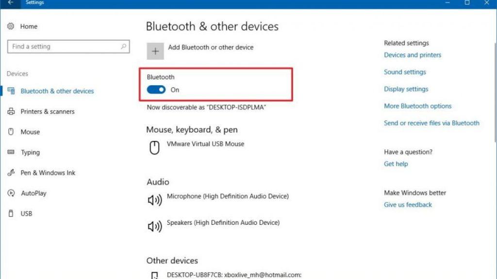 Cách bật bluetooth trên laptop win 10 đơn giản nhất