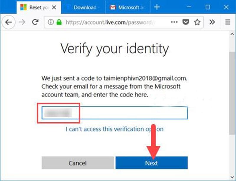 Lấy lại tài khoản Windows 10 đơn giản