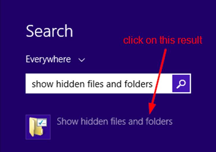 Cách hiện file ẩn win 10 đơn giản nhất