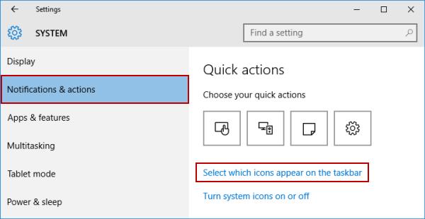 Khôi phục lại biểu tượng unikey, loa, mạng trên thanh taskbar