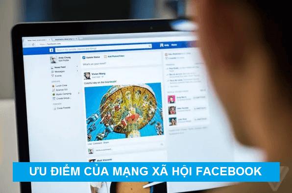 ưu điểm của facebook