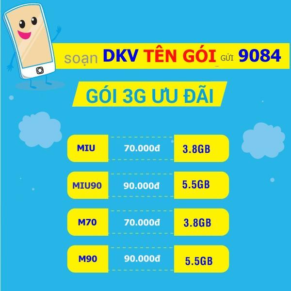 Những cách đăng kí 3G 4G bạn không thể nào không biết