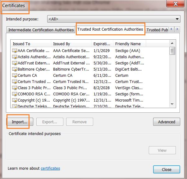 Sửa lỗi bảo mật không vào được web