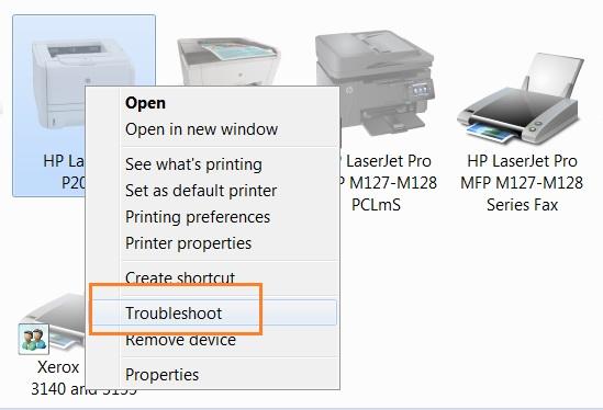 Sửa lỗi mất kết nối giữa máy in với máy tính