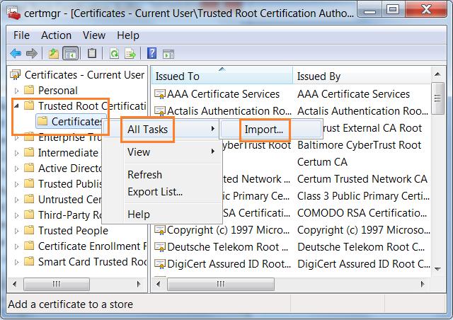 Sửa lỗi không truy cập được web báo lỗi riêng tư
