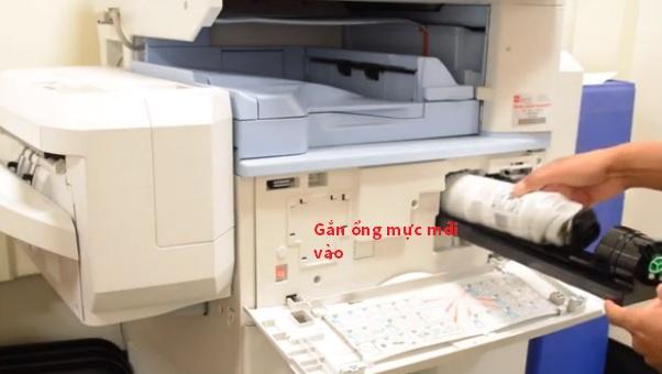 Cách đổ mực máy ricoh aficio mp 3351