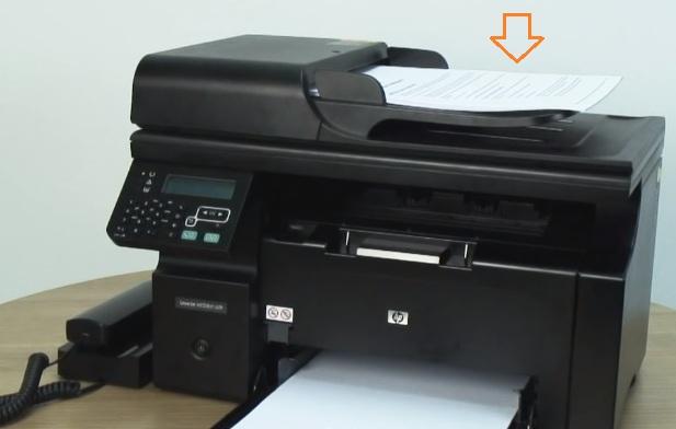 Cách sử dụng fax hp m127fn