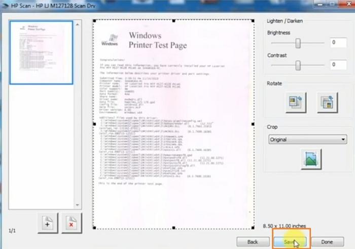 Cách scan máy in hp m127fn