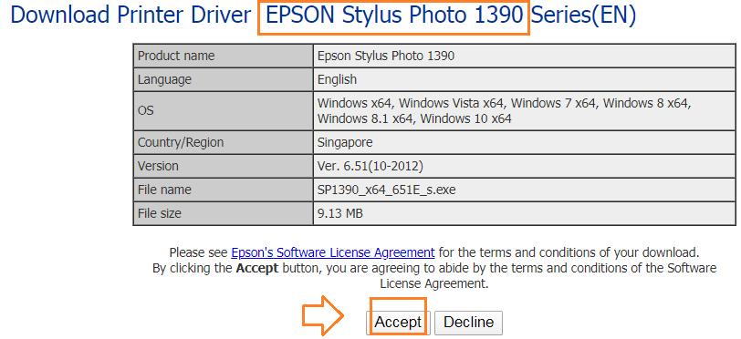 Dowload driver epson 1390 win 7 64bit