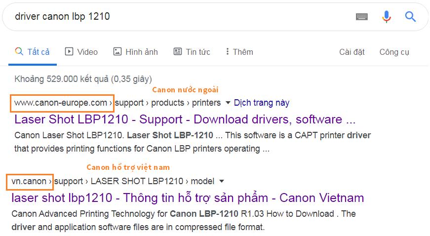 Download driver canon 1210