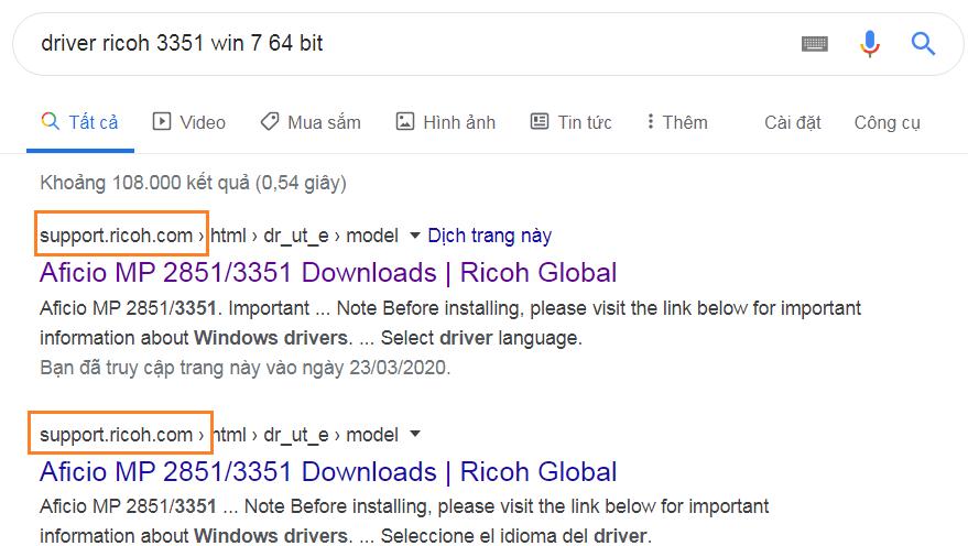 Download driver ricoh 3351