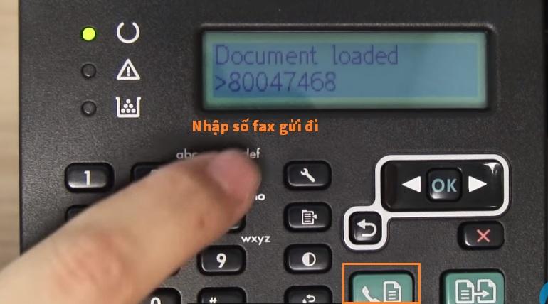 Hướng dẫn sử dụng fax hp m127fn