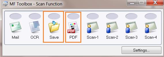 Sử dụng phần mềm scan canon mf toolbox