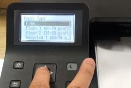 Sửa lỗi check paper size canon 251dw