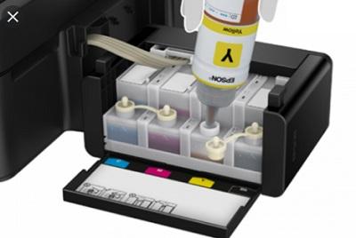Đổ mực máy in phun epson L360