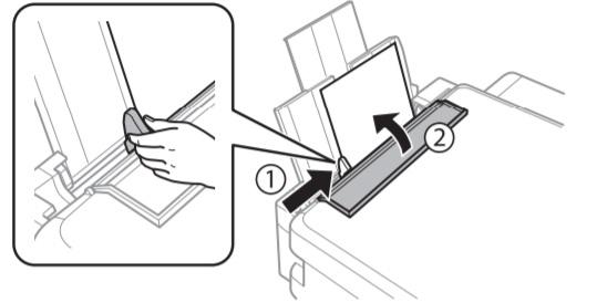 Cách bỏ giấy vào máy in epson