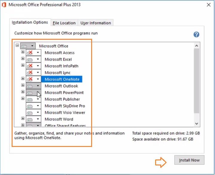 Cách cài đặt Microsoft office 2013 Professional Plus