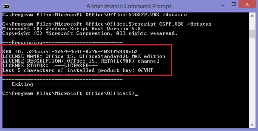 Cách kiểm tra microsoft office 2010 bản quyền